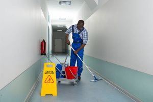 Communal area cleaning, London