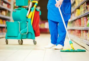 Retail Cleaning Services, London
